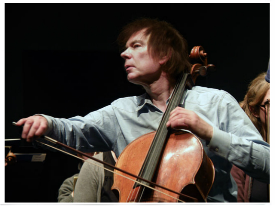 This is Julian Lloyd Webber.